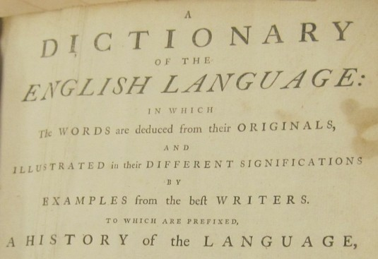 Tales from a Misinformed Dictionary